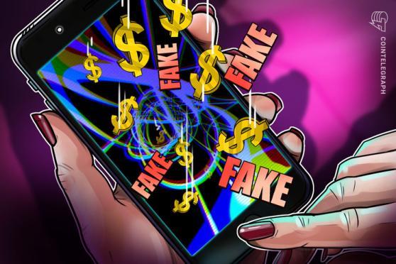 グーグルのプレイストアで「偽ユニスワップ」アプリ出現、すでにユーザー1人が2万ドル失う