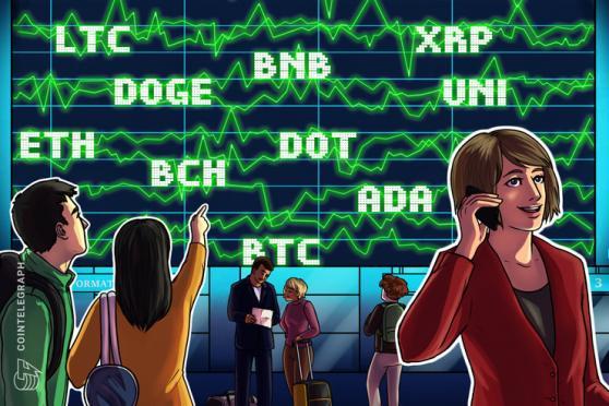 相場は底を脱したか?  仮想通貨チャート分析:ビットコイン・イーサ・XRP(リップル)・ライトコイン・ビットコインキャッシュ