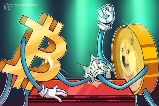 ドージコイン vs ビットコイン、先に月に向かう仮想通貨はどちらか?