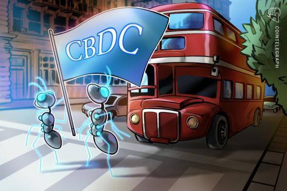 英イングランド銀行、中央銀行デジタル通貨関連で7件の求人掲載